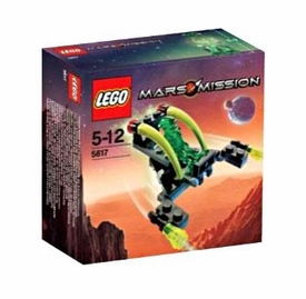 LEGO Mars Mission Exclusive Mini Figure Set #5617 Alien Jet