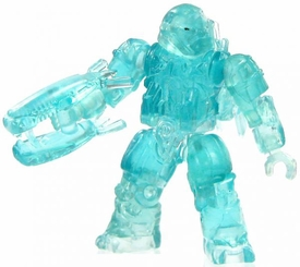 Halo Wars Mega Bloks LOOSE Mini Figure Covenant Active Camo Jump Pack Brute with Energy Rifle