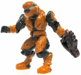 Halo Wars Mega Bloks LOOSE Mini Figure Covenant Orange Elite Pilot with Needler