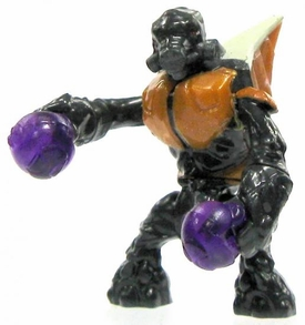 Halo Wars Mega Bloks LOOSE Mini Figure Covenant Orange Grunt with Plasma Grenades