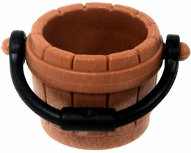 Playmobil LOOSE Accessory Brown Bucket