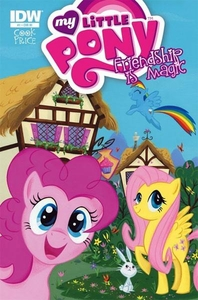 My Little Pony Friendship Is Magic Comic Book #1 Incentive Cover [Flutteryshy, Rainbow Dash & Pinkie Pie]