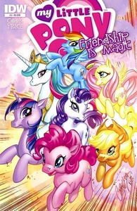 My Little Pony Friendship Is Magic Comic Book #3 Retailer Incentive Cover [Main 6 & Princess Celestia]