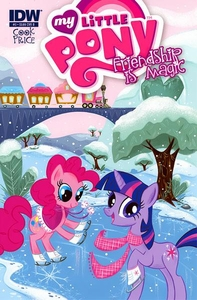 My Little Pony Friendship Is Magic Comic Book #3 Cover B [Twilight Sparkle & Pinkie Pie]