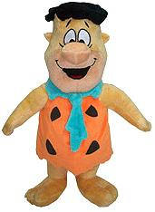 Hanna Barbera 12 Inch Deluxe Plush Figure with Pull String & Sound Fred Flintstone
