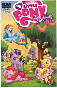 My Little Pony Friendship Is Magic Comic Book #4 Cover A