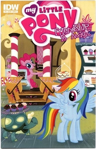 My Little Pony Friendship Is Magic Comic Book #4 Cover B