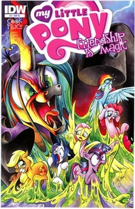 My Little Pony Friendship Is Magic Comic Book #4 Retailer Incentive Cover