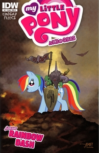 My Little Pony Micro-Series Featuring Rainbow Dash Comic Book #2 Cover B