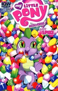 My Little Pony Micro-Series Featuring Spike Comic Book #9 Cover A