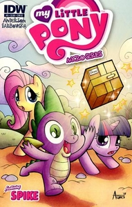 My Little Pony Micro-Series Featuring Spike Comic Book #9 Cover B