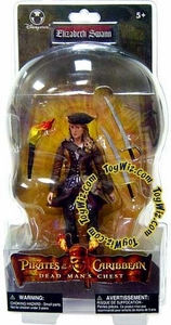 Pirates of the Caribbean Dead Man's Chest Exclusive Action Figure Elizabeth Swann