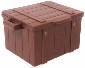 Playmobil LOOSE Accessory Dark Brown Crate with Lid