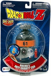 Dragonball Z Capsule Corp. Collector Capsule Bulma's Anti-Gravity Car Package may be slightly worn; Mint Contents Inside