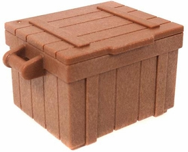 Playmobil LOOSE Accessory Light Brown Crate with Lid