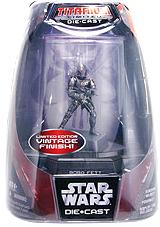 Star Wars Titanium Series Diecast 3 3/4 Figure Limited Edition Boba Fett [Vintage Finish]