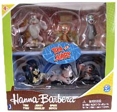 Hanna Barbera Tom & Jerry 2 Inch Figure Collector 6-Pack [Tom, Jerry, Spike, Tyke, Nibbles & Butch]