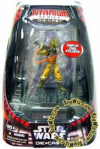 Star Wars Titanium Series Diecast 3 3/4 Figure Limited Edition Bossk [Full Color Finish]