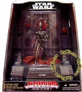 Star Wars Titanium Series Diecast 3 3/4 Figure Limited Edition IG-88 BLOWOUT SALE!