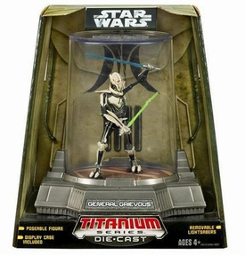 Star Wars Titanium Series Diecast 3 3/4 Figure General Grievous