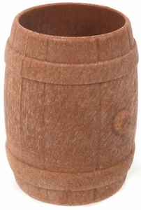 Playmobil LOOSE Accessory Light Brown Small Barrel
