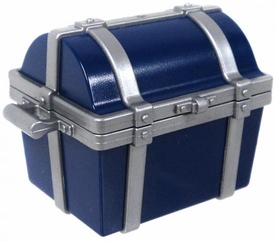 Playmobil LOOSE Accessory Blue & Silver Treasure Chest