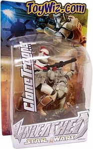Star Wars Unleashed Series 7 Action Figure Variant Red Striped Clone Trooper Commander BLOWOUT SALE!
