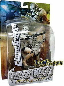 Star Wars Unleashed Series 7 Action Figure White Clone Trooper BLOWOUT SALE!