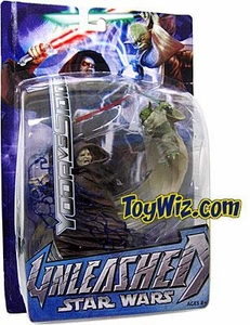 Star Wars E3 Revenge of The Sith Unleashed Series 2 Action Figure Emperor Palpatine vs. Yoda