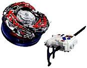 Beyblades JAPANESE Metal Fusion Starter Set with Control Launcher #BBC02 L-Drago Destroy