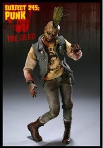 Sideshow Collectibles 12 Inch Figure The Dead Zombie Subject 245: Punk