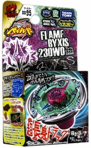 Beyblades JAPANESE Metal Fusion Battle Top Booster #BB95 Flame Byxis 230WD
