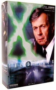 Sideshow Collectibles X-Files Limited Edition 12 Inch Action Figure CGB Spender [Cigarette Smoking Man]