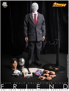 Hot Toys 10th Anniversary Exclusive 20th Century Boys 1/6 Scale Collectible Figure Friend