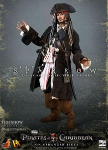 Pirates of the Carribean Hot Toys DX Movie Masterpiece 1/6 Scale Collectible Figure Jack Sparrow