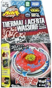 Beyblades JAPANESE Metal Fusion Battle Top Booster #BB74 Thermal Lacerta WA130HF