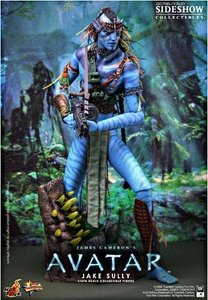 Sideshow Collectibles James Cameron's Avatar 18 Inch Deluxe Action Figure Navi Jake Sully