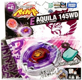 Beyblades JAPANESE Metal Fusion Battle Top Starter #BB47 Earth Eagle 145WD [Includes Light Launcher!]