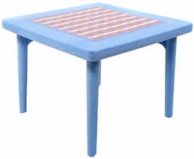 Playmobil LOOSE Accessory Light Blue Kitchen Table