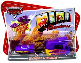 Disney CARS Mini Adventures Ramone With Motorized Trailer