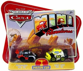 Disney CARS Mini Adventures Piston Cup Nitroade & Leak Less