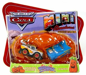 Disney CARS Mini Adventures Holiday Special Exclusive Tunerz [Lightning McQueen & Ramone]