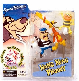 McFarlane Toys Hanna Barbera Series 1 Action Figure Hong Kong Phooey