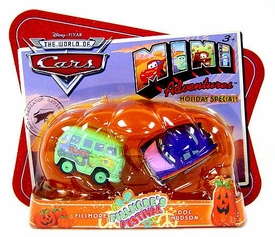 Disney CARS Mini Adventures Holiday Special Exclusive Fillmore's Festival [Fillmore & Doc Hudson]