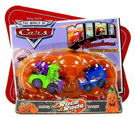 Disney CARS Mini Adventures Holiday Special Exclusive Race Rods [Mater & Sarge]