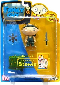 Family Guy Mezco Series 7 Action Figure Commando Stewie