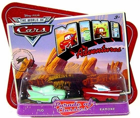 Disney CARS Mini Adventures Parade of Classics Flo & Ramone