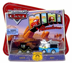 Disney CARS Mini Adventures Radiator Springs Lizzie & Red