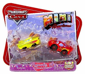 Disney CARS Mini Adventures Holiday Special Exclusive Parade of Classics Ramone & Lightning McQueen