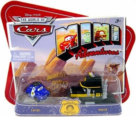 Disney CARS Mini Adventures Radiator Springs Luigi & Mack